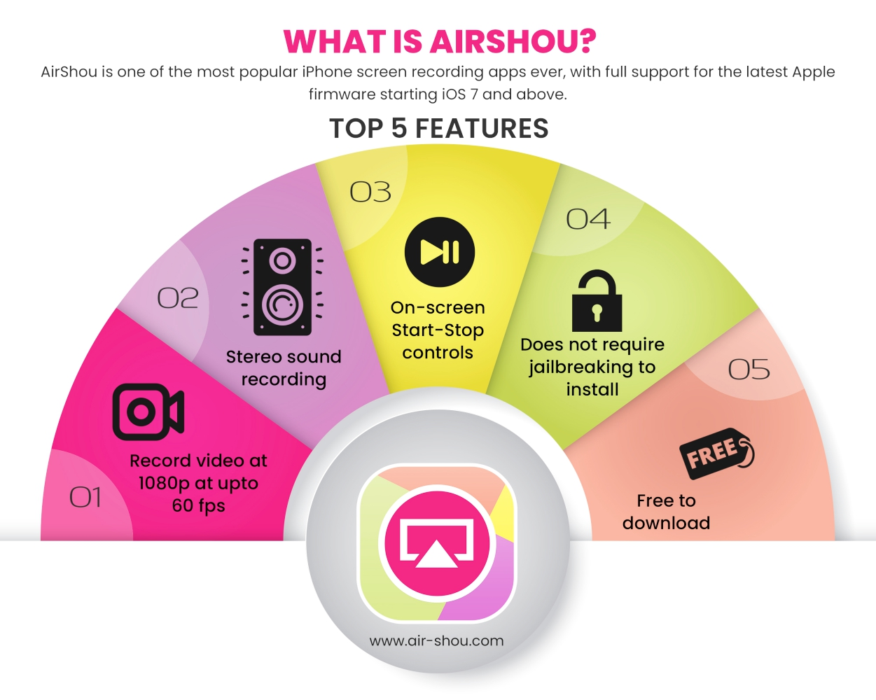 airshou app features