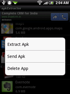 apk extractor export apk