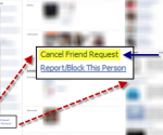 cancel facebook friend request