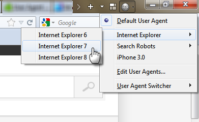 Step 5 - Change Firefox Browser User Agent