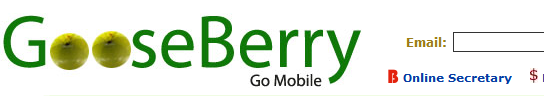 goose berry email alerts via sms