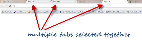 how to open multiple google tabs
