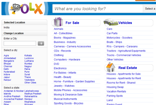 Olx Classified India
