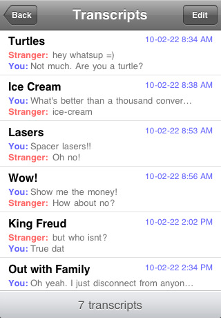 Omegle Ace iOS Screenshot 2