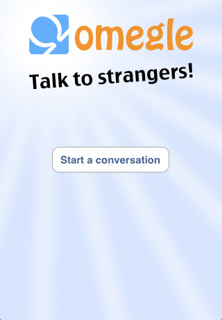 Screenshot 1 - Omegle Official iOS App