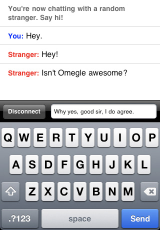 Screenshot 2 - Omegle Official iOS App