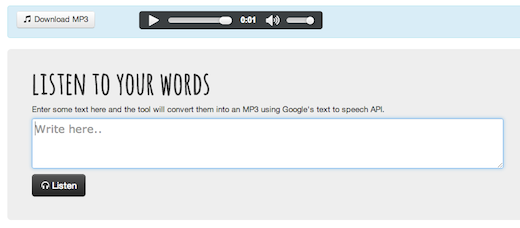 text-to-mp3-speech